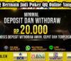 Peluang Bermain Judi Poker QQ Online Yang Aman